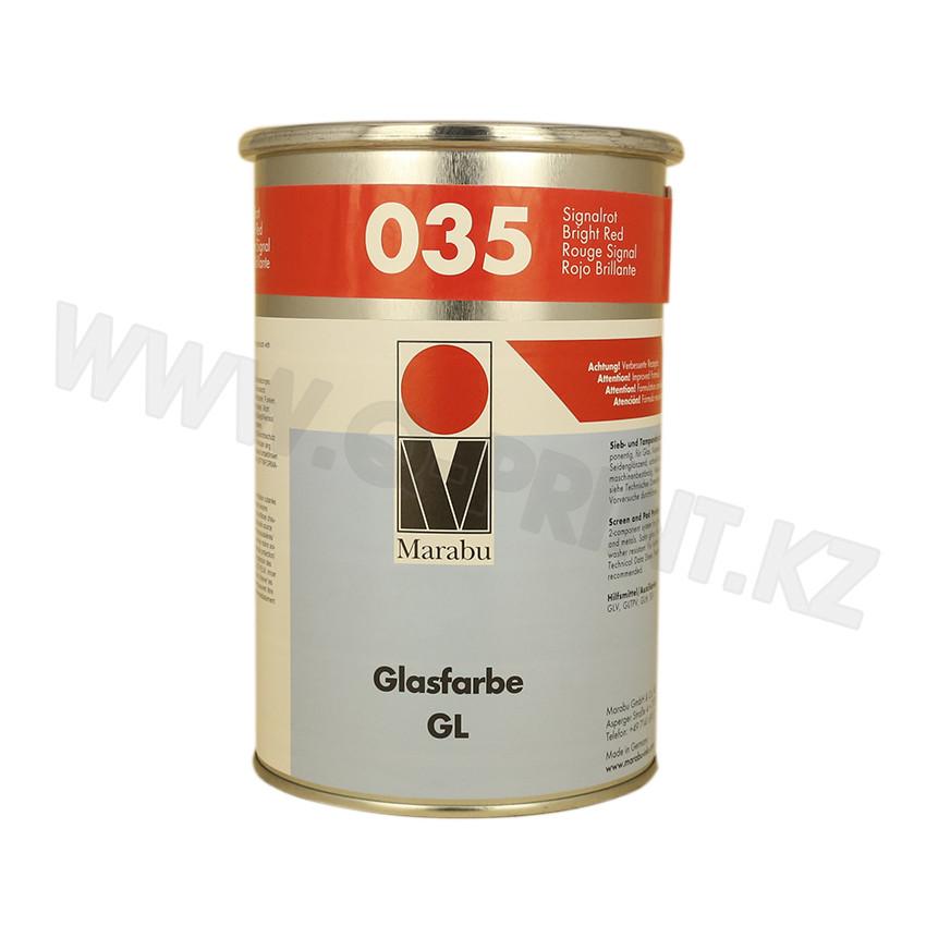 Трафаретная краска Glassfarbe GL красная киноварь