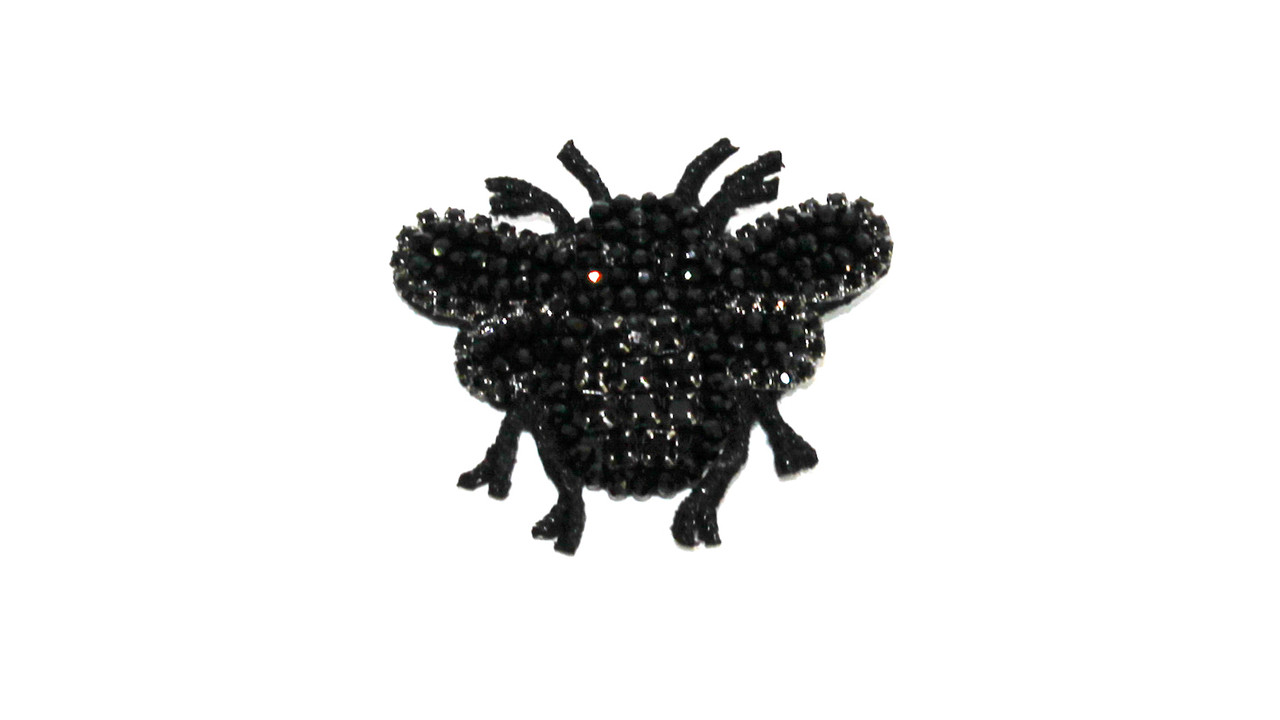 Брошь  Brosh Jewellery  ручной работы (черный)
