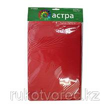 EVA-1010 Фоамиран, 20*30 см, 1 мм, упак./10 шт., 'Астра',красный