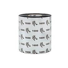 Zebra 01600BK06045 Красящая лента Воск Zebra 1600 60/450, WAX