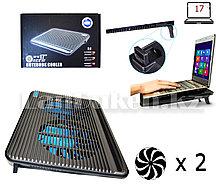 """Охлаждающая подставка кулер для ноутбука до 17"""" JM Maxpro (S2)"""