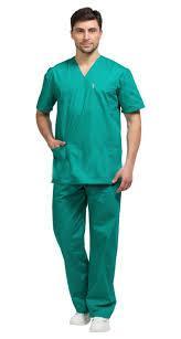 Костюм хирурга зеленый