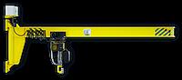 Кран консольный настенный (изготовление)