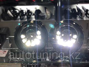 Альтернативная оптика Mansory на Mercedes Benz G-class W463   Передние фары мансори на мерседес гелендваген