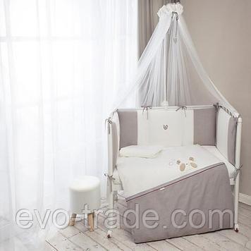 Комплект в кроватку Perina 6 предметов Прятки