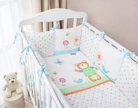 Комплект в кроватку Perina Глория Oval Hello 7 пр, фото 1