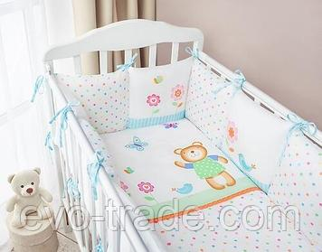 Комплект в кроватку Perina Глория Oval Hello 7 пр