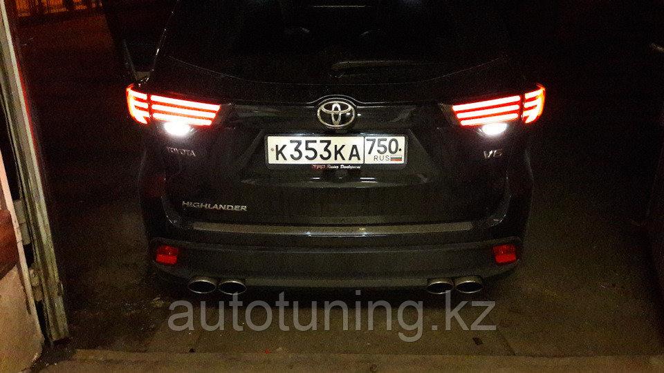 Светодиодные фонари дизайн BMW на Toyota Highlander XU5 с 2013 по н.в.