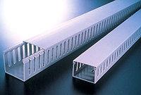 KKC 1008; Перфорированный короб с крышкой, 100x80 (ШхВ) Широкий шаг перфорации