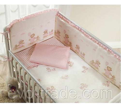 Постельное белье Perina Тиффани Неженка розовая 4 предмета