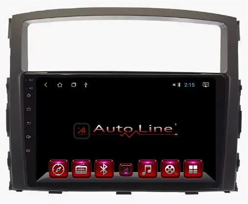 ANDROID 8.1.0 Mitsubishi Pajero 4 2007-2015г HD ЭКРАН 1024-600 ПРОЦЕССОР 4 ЯДРА (QUAD CORE