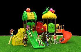 Детская игровая площадка Slide Park District Park Plaza