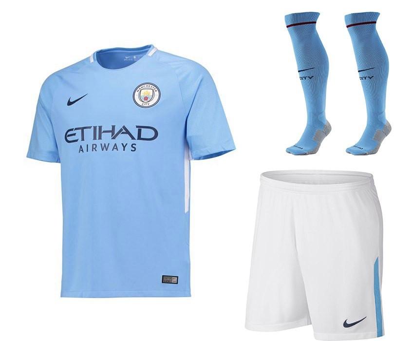 Футбольная форма (Manchester city)-оригинал17/18