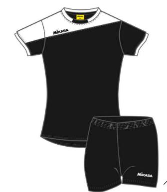 Волейбольная форма MIKASA MT351 0018 SHIGY (Женская)