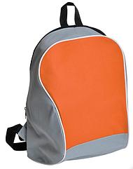 Рюкзак Промо серый с оранжевым
