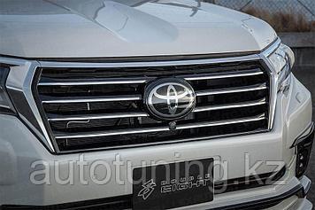 Решетка радиатора Double Eight на Toyota Land Cruiser Prado 150 c 2017 по н.в.