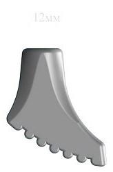 Резиновые наконечники NWALK для палок  (11 мм ) Украина