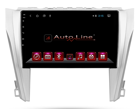 Автомагнитола AutoLine Toyota Camry 50 HD ЭКРАН 1024-600 ПРОЦЕССОР 8 ЯДЕР (OCTA CORE), фото 2