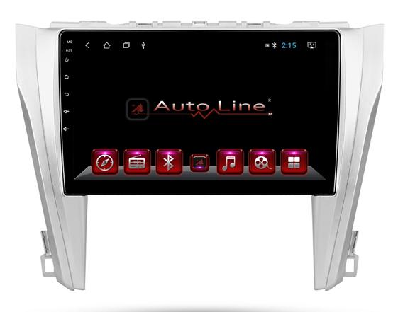 Автомагнитола AutoLine Toyota Camry 50 HD ЭКРАН 1024-600 ПРОЦЕССОР 4 ЯДРА (QUAD CORE)