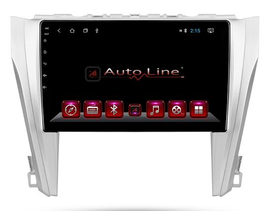 Автомагнитола AutoLine Toyota Camry 50 HD ЭКРАН 1024-600 ПРОЦЕССОР 4 ЯДРА (QUAD CORE), фото 2