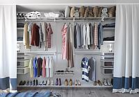 Изготовление гардеробных систем и системы хранения.