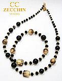 Ожерелье из муранского стекла, ручная работа, Италия, фото 2