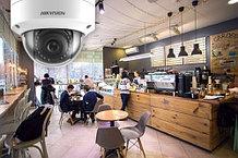 Установка видеонаблюдения в ресторане, ночном клубе, баре и кафе