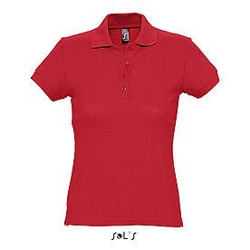 Рубашка Поло женская Sols Passion S, Красная
