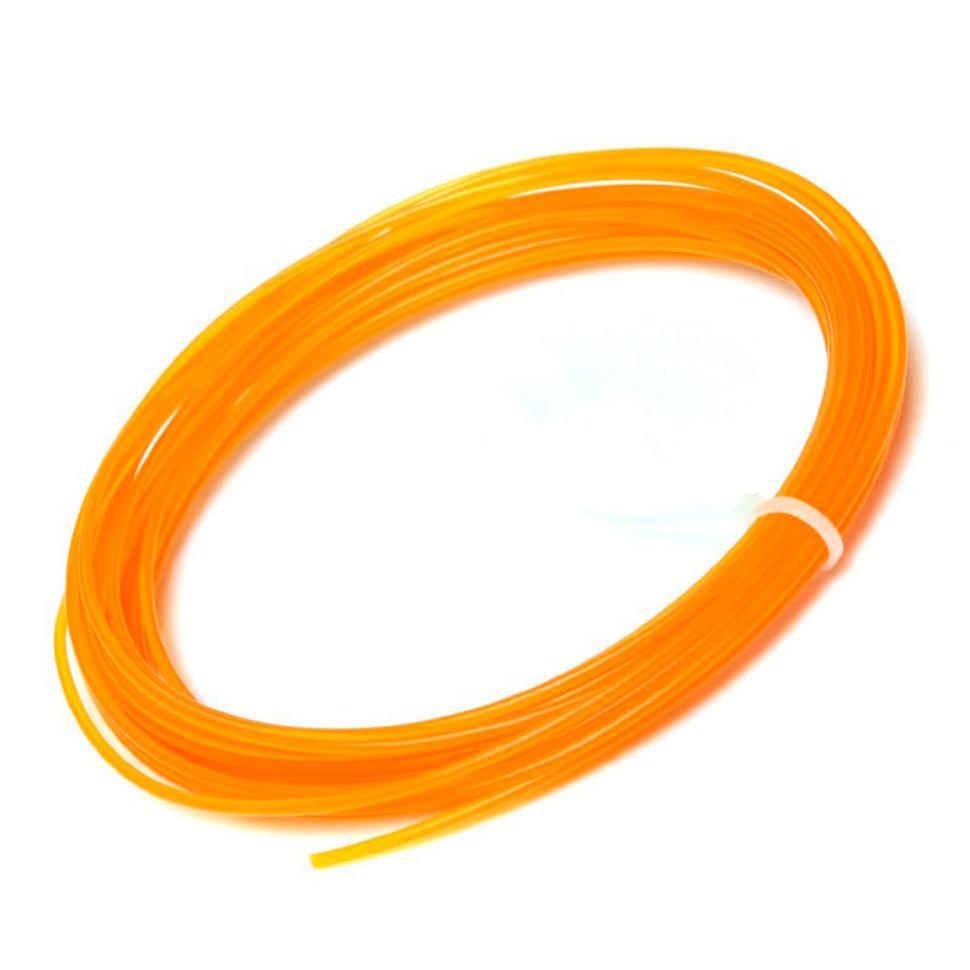 Пластик для 3D принтеров PLA, SunLu, оранжевый 1 метр