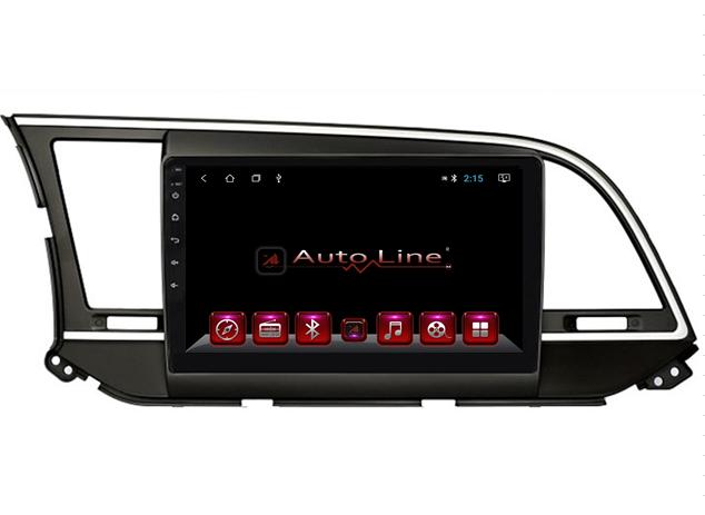 Автомагнитола AutoLine Hyundai Elantra 2017-2018 4-ядерный (QUAD CORE)