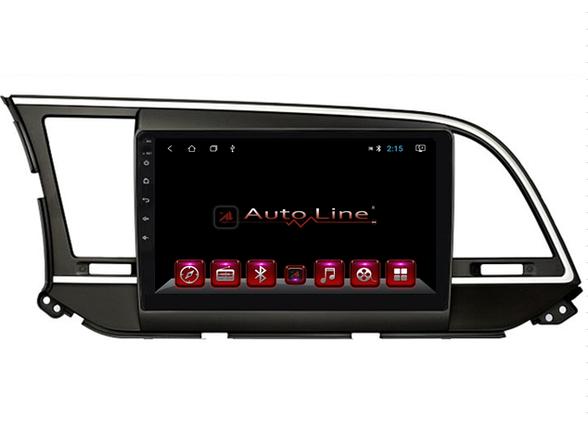 Автомагнитола AutoLine Hyundai Elantra 2017-2018 8-ядерный (OCTA CORE), фото 2