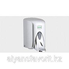Диспенсер (дозатор) для жидкого мыла локтевой 500 мл. S5МС, хром.Vialli