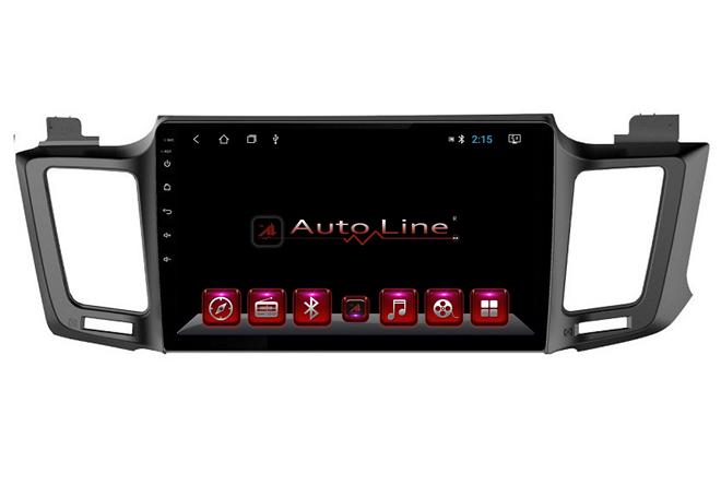Автомагнитола AutoLine Toyota RAV4 2013-2017 ПРОЦЕССОР 4 ЯДРА (QUAD CORE)