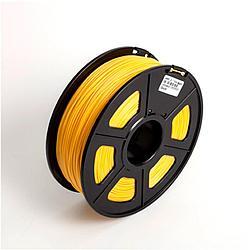 Пластик для 3D принтеров PLA, SunLu, светящийся, желтый