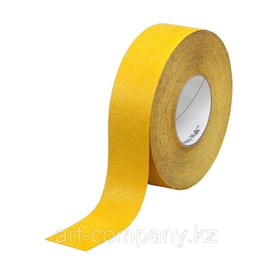 Лента противоскользящая желтая