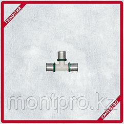 Пресс-тройник с уменьшенным средним отводом PPSU HERZ