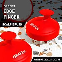 Grafen Edge Finger (RED) массажер для кожи головы