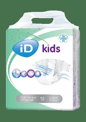 Детские подгузники ID KIDS Junior 34 шт, фото 2