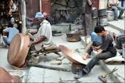 Индийская медная посуда