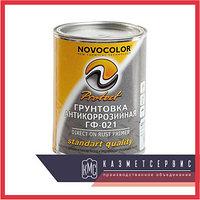 Грунтовка кр.коричневая «Новоколор» ГФ-021