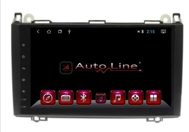 Автомагнитола AutoLine Mercedes-Benz Sprinter 2008-2015 ПРОЦЕССОР 8 ЯДЕР (OCTA CORE)