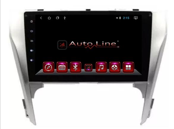 Автомагнитола AutoLine Toyota Camry V50 2012-2014 ПРОЦЕССОР 4 ЯДРА (QUAD CORE)