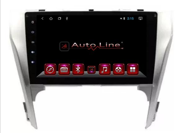 Автомагнитола AutoLine Toyota Camry V50 2012-2014 ПРОЦЕССОР 4 ЯДРА (QUAD CORE), фото 2