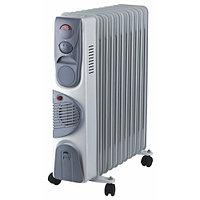Масляный радиатор Oasis BB-25Т, 2,5кВт, 11-секций, Встроенный вентилятор, фото 1