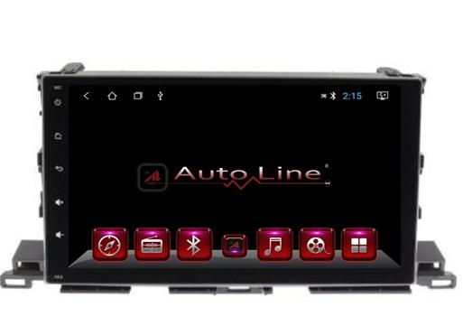 Автомагнитола AutoLine Toyota Highlander 2013-2017 ПРОЦЕССОР 4 ЯДЕР (OCTA CORE)