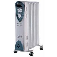 Масляный радиатор Oasis US-20, 2кВт, 9-секций, фото 1
