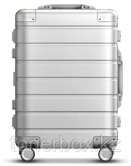Чемодан Xiaomi 90FUN Metal Luggage 20'' Silver (металлический чемодан)