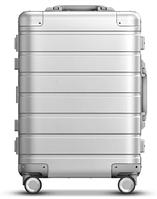 Чемодан Xiaomi 90FUN Metal Luggage 20'' Silver (металлический чемодан), фото 1