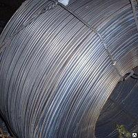 Катанка стальная 6 мм ГОСТ 30136-95 мягкая, твердая
