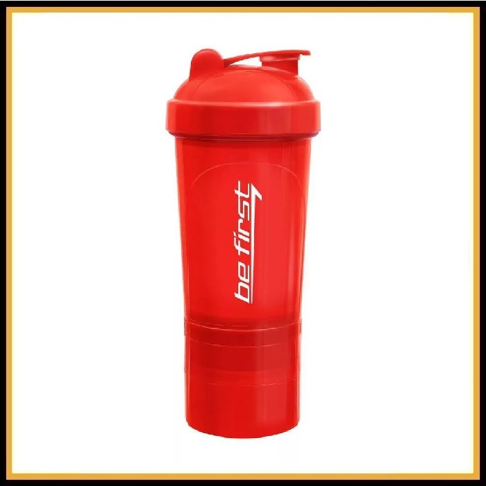 Шейкер Be First 3в1 500мл (красный)